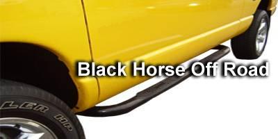 Black Horse - Dodge Ram Black Horse Side Steps
