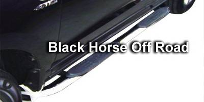 Black Horse - Hyundai Santa Fe Black Horse Side Steps