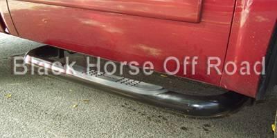 Black Horse - GMC Sierra Black Horse Side Steps