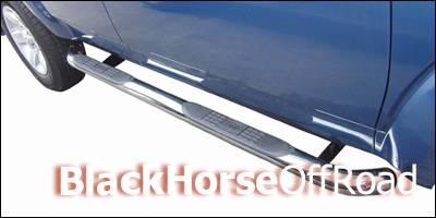 Black Horse - Toyota Tacoma Black Horse Side Steps