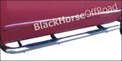 Black Horse - Nissan Titan Black Horse Side Steps