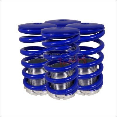 Spec-D - Nissan Maxima Spec-D Coilover Springs - Blue - CO-MAX95B-DK