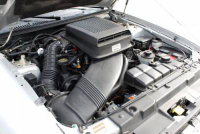 CDC - Ford Mustang CDC Shaker Hood System