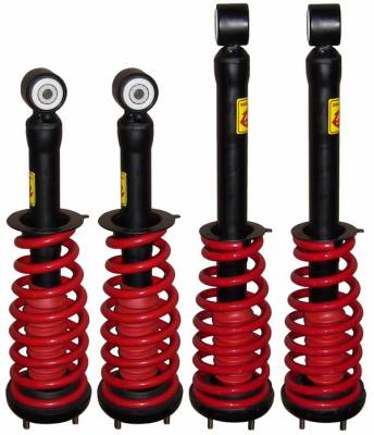 Strutmasters - Lincoln LS Strutmasters 4 Wheel Coil Over Strut Kit - LINC-LS-F1-R1