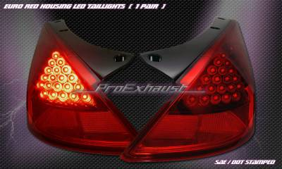 Custom - Euro Red LED Taillights