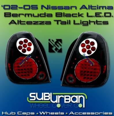 Custom - Bermuda Black LED Altezza Taillights