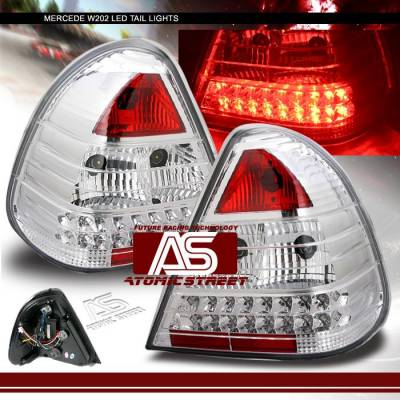 Custom - Euro Chrome LED Taillights