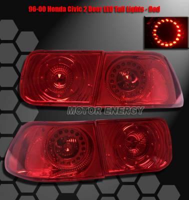 Custom - Light Red LED Taillights