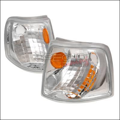 Spec-D - Ford Ranger Spec-D Corner Lights - Chrome - 2LC-RAN93-KS