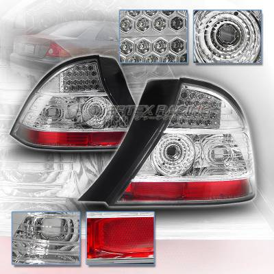 Custom - Diamond Chrome LED Taillights