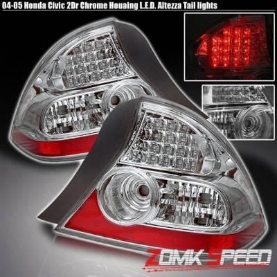 Custom - Chrome Clear Led Taillights