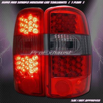 Custom - Euro Red Smoke LED Taillights