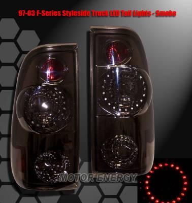 Custom - Smoke Circle LED Taillights