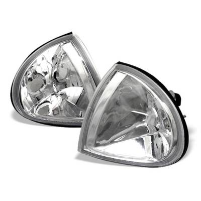 Spyder - Honda Del Sol Spyder Corner Lights - Euro - CCL-HD93-E