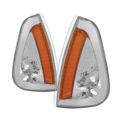 Spyder - Dodge Charger Spyder Amber Corner Lights - Euro - CCL-JH-DCH05-AM-E