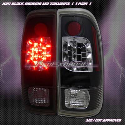 Custom - Euro Black LED Taillights