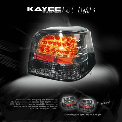 Custom - Smoked LED Taillights