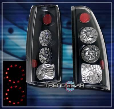 Custom - Black  LED Taillights