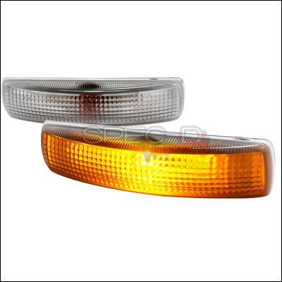 Spec-D - Land Rover Range Rover Spec-D Side Marker Light - Smoke Lens - LSM-RRL32006G-DP