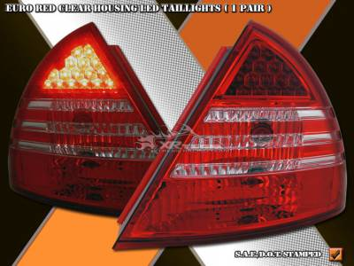 Custom - Red Clear LED Taillights