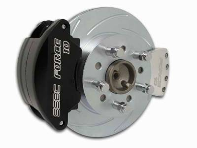 SSBC - SSBC Disc Brake Conversion Kit for Ford 9 Inch Large Bearing Rear Ends - Rear - A110-5