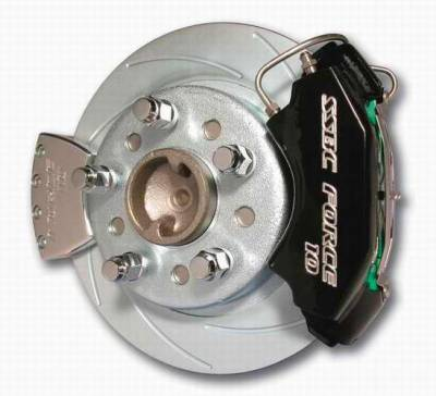 SSBC - SSBC Disc Brake Conversion Kit for Ford 9 Inch Large Bearing Rear Ends - Rear - A110-7
