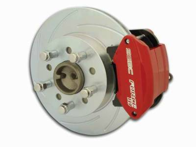 SSBC - SSBC Disc Brake Conversion Kit for Ford 9 Inch Rear Ends with Torino Flange - Rear - A111-21