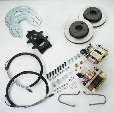 SSBC - SSBC Drum to Disc Brake Conversion Kit for 4 Lug Axles  - Rear - A112