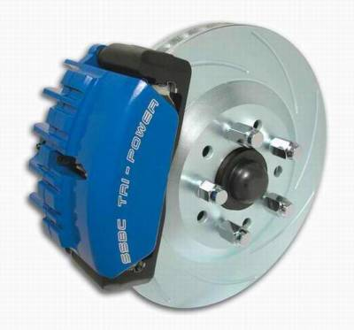 SSBC - SSBC Disc Brake Kit with Force 10 Tri-Power 3-Piston Aluminum Calipers & 13 Inch Rotors - Front - A112-12