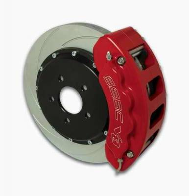 SSBC - SSBC Disc Brake Kit with Force 10 V8 8-Piston Aluminum Calipers & 14 Inch Rotors - Front - A112-17