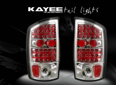 Custom - Red Chrome LED Taillights