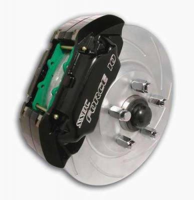 SSBC - SSBC Disc Brake Kit with Force 10 Extreme 4-Piston Aluminum Calipers & 13 Inch Rotors - Front - A112-6