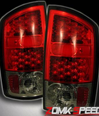 Custom - Red Smoke Altezza LED Taillights