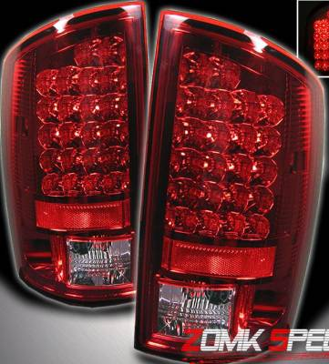 Custom - Red Clear Altezza LED Taillights