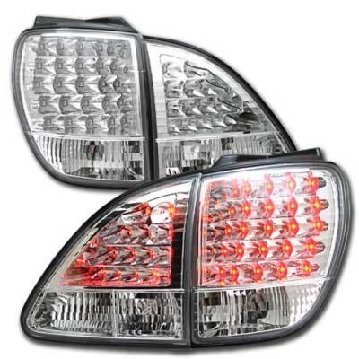 Custom - JDM Chrome Altezza LED Taillights