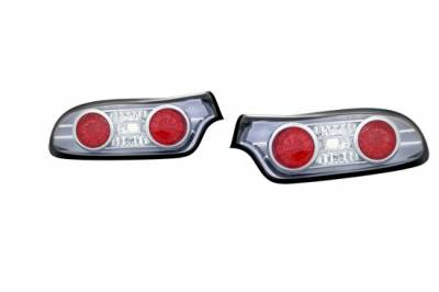 Custom - Black Chrome LED Taillights