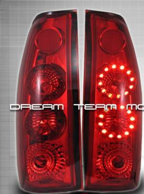 Custom - Red LED Altezza Taillights