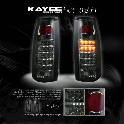 Custom - Smoked LED Taillights