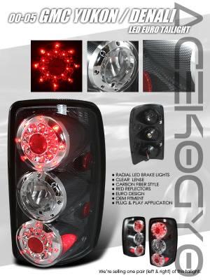 Custom - Euro Carbon LED Taillights