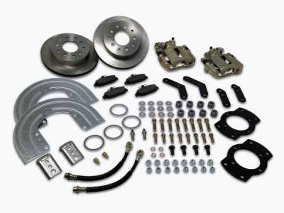 SSBC - SSBC Disc Brake Conversion Kit - Rear - A125-2