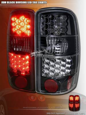 Custom - JDM Black LED Taillights