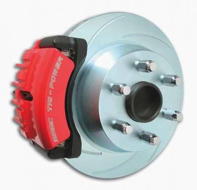 SSBC - SSBC Disc to Disc Upgrade Kit with Force 10 Tri-Power 3-Piston Aluminum Calipers & 14 Inch Rotors - Rear - A126-38