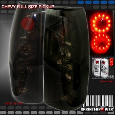 Custom - Smoke Twin LED Taillights