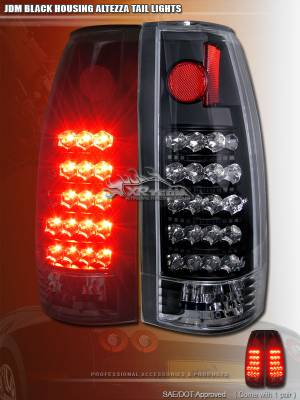 Custom - JDM Black Altezza LED Taillights