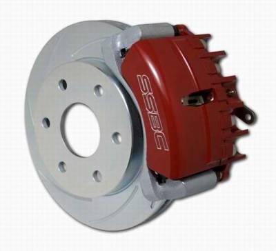 SSBC - SSBC Drum to Disc Brake Conversion Kit  - Rear - A126-48