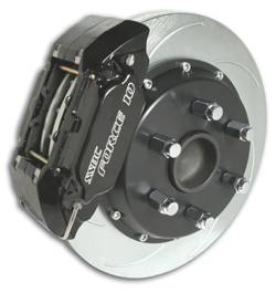 SSBC - SSBC Disc to Disc Upgrade Kit with Force 10 Extreme 4-Piston Aluminum Calipers & 14 Inch Rotors - Front - A126-54