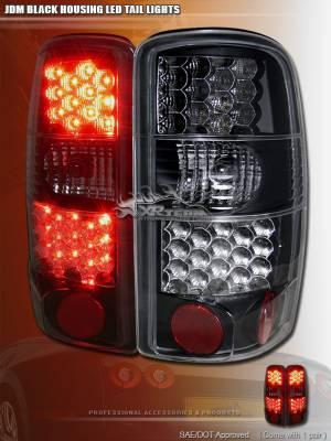 Custom - JDM Black LED Taillights