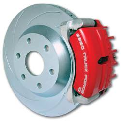 SSBC - SSBC Disc to Disc Upgrade Kit with Force 10 Tri-Power 3-Piston Aluminum Calipers & 14 Inch Rotors - Front - A126-55