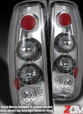 Custom - Chrome Altezza LED Taillights