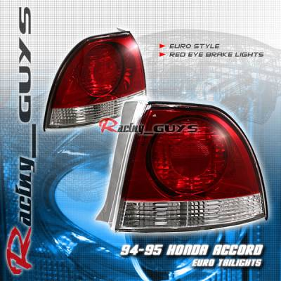Custom - Red Clear Euro Taillights